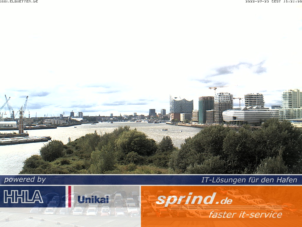 Hamburg webcam - Hamburg Port webcam, Hamburg, Hamburg